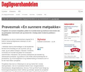 Prøvesmak En sunnere matpakke _ Dagligvarehandelen 23_sept 2015